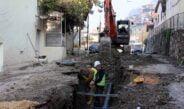 İçme suyu ikmal inşaatında çalışmalar hızlandırıldı