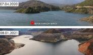 Karaçay Barajında 25 günlük su kaldı!