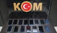 Antakya'da gümrük kaçağı 15 cep telefonu ele geçirildi