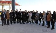 KAGİD üyeleri, EXPO alanlarını inceledi