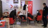 HBB çalışanları minik Mehmet için kan bağışında bulundu