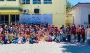 Kızılay Karne günü çocukları sevindirdi
