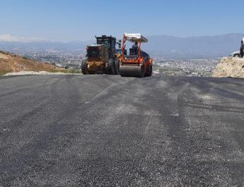 Antakya'nın her köşesine asfalt serimi