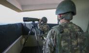 'Hudut kartalları' elleri tetikte gözleri sınırda vatan nöbeti tutuyor