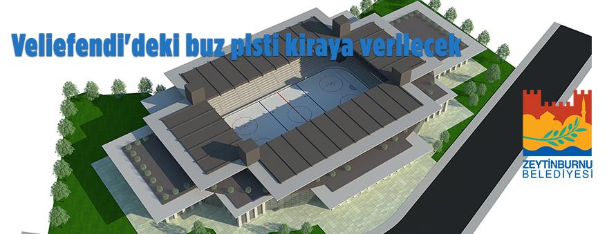 Zeytinburnu Belediyesinden kiralık buz pisti
