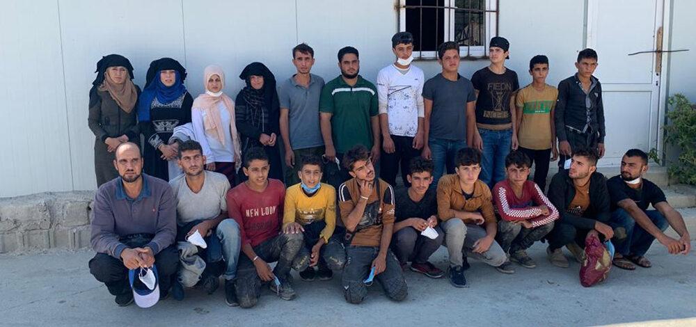 21 mülteci yakalandı!