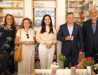 Zeynep Eczanesi Antakya'da törenle açıldı