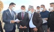 Samandağ'da yeni kurulacak 'Sanayi Sitesi'nde inceleme